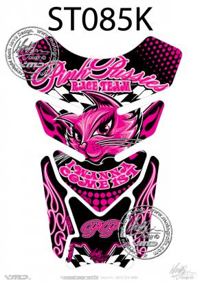Picture of Tank Pad Streetfighter PINK PUSSY I WANNA COME FIRST  H=21cm/W=15cm