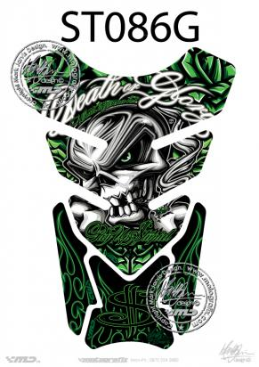 Picture of Tank Pad Streetfighter 2009 DEATH OR GLORY DESIGN H=21cm/W=15cm