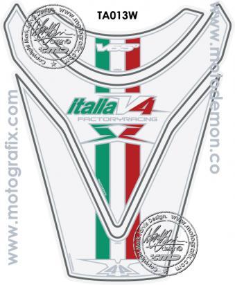 Picture of Aprilia Style RSV 4 R 09-11 Tuono Motografix TA013W Tankpad, Approx. Size H=24cm/W=18cm