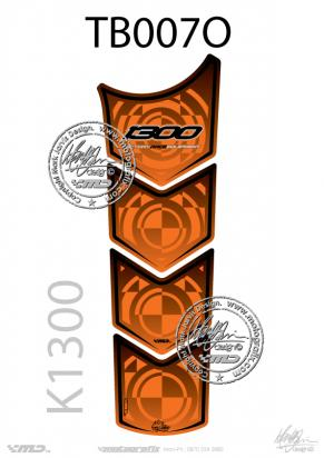 Picture of BMW K1300R/RS Tankpad Orange Approx. Size H=33cm/W=11cm