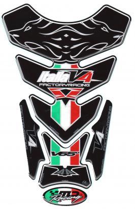 Picture of Aprilia Style RSV 4 R 09-11 Tuono Motografix TA014K Tankpad, Approx. Size H=24cm/W=18cm