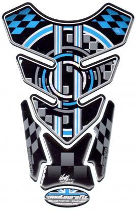 Picture of BMW Style Universal Black Motografix Tankpad, Approx. Size H=21cm/W=15cm
