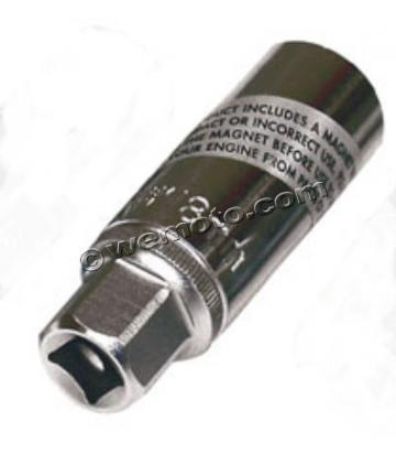 Picture of Spark Plug Socket 18mm - Magnetic, 3/8