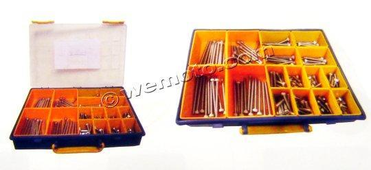 Picture of Parts Tray - Srews Button Allen Kit M6 Assorted Length 160pc Stainless Steel