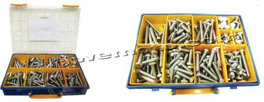 Picture of Parts Tray - Bolt Hexagon Kit M10 Assorted Length 160pc Stainless Steel