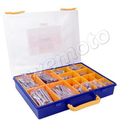 Picture of Parts Tray - Screws Allen Kit M8 Assorted Length 160pc Stainless Steel