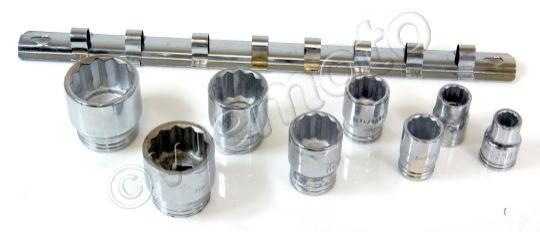 Picture of 8 Piece Socket Set  Whitworth