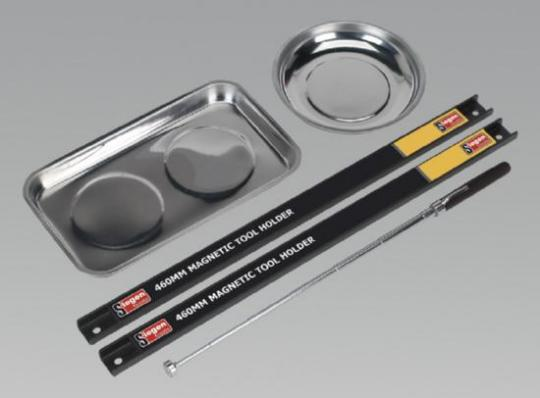 Picture of Sealey Magnetic Bowl & Tool Holder Set 5pc