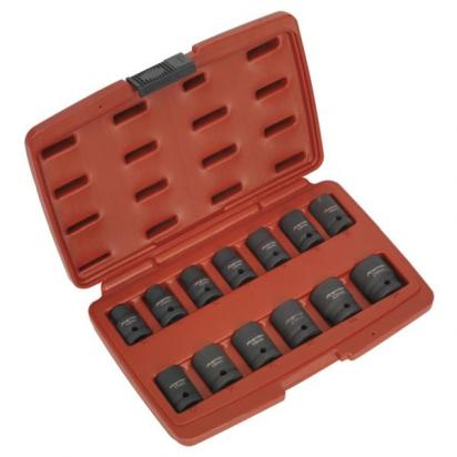 Sealey Impact Socket Set 13pc 1/2