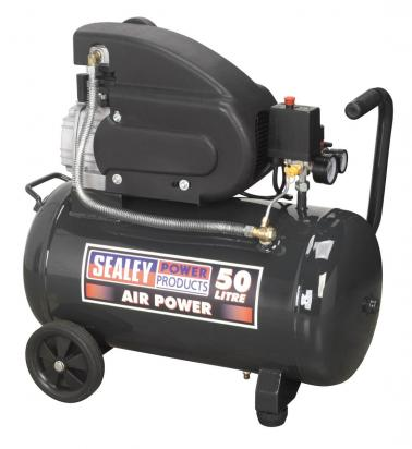 Picture of Sealey Compressor 50ltr Direct Drive 2hp