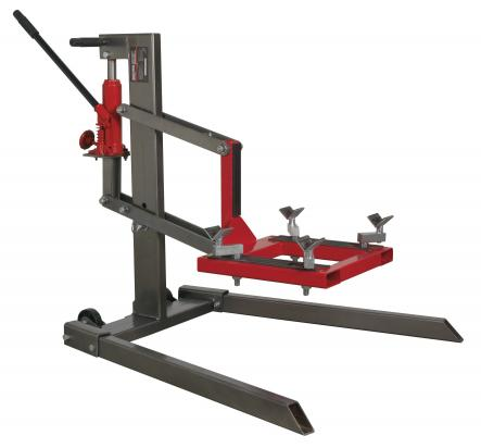 Picture of Sealey Single Post Motorcycle Lift 450KG Capacity