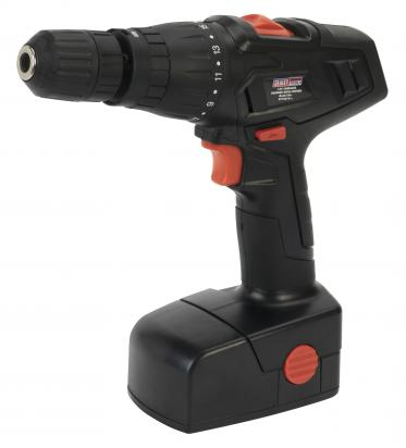 Sealey Cordless Hammer Drill/Driver 18V 1hr Charge