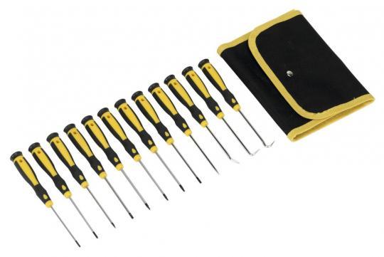 Picture of Precision Screwdriver & Pick Set 12pc