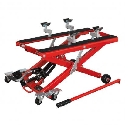 Picture of Sealey Motorcycle & Quad Scissor Lift 500kg Capacity Hydraulic