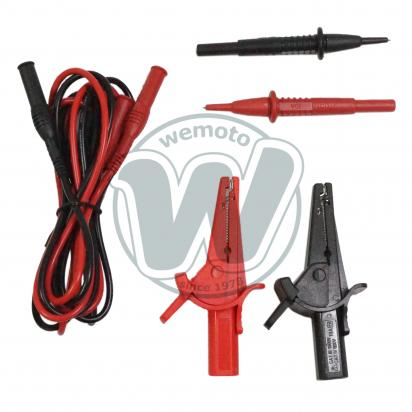 Picture of Sealey Multimeter Test Lead And Crocodile Clip Set