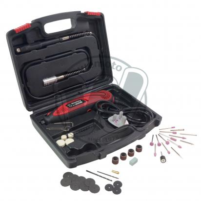 Picture of Multipurpose Rotary Tool & Engraver Kit 40pc 230V - 135W