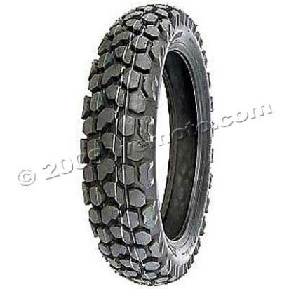 Picture of Heidenau 120/80-18 Catspaw Trail Tyre Tubed KT-966 (63S)