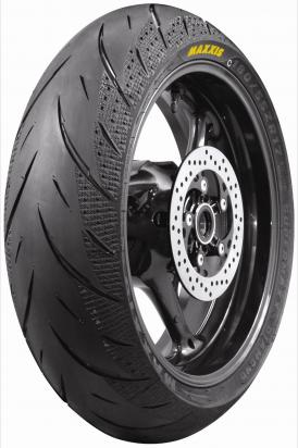 Picture of Voxan Roadster 1000 05 Tyre Rear - Maxxis Diamond