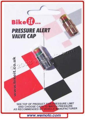 Picture of Valve Cap - Pressure alert PSI range Suitability 35-37