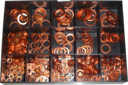 Picture of Parts Tray - Washer Assortment Kit Copper(400pieces)