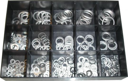Picture of Parts Tray - Washer Assortment Kit Aluminium (400pieces)