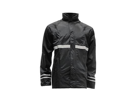 Rain Jacket Black - Medium 120cm (47inches)