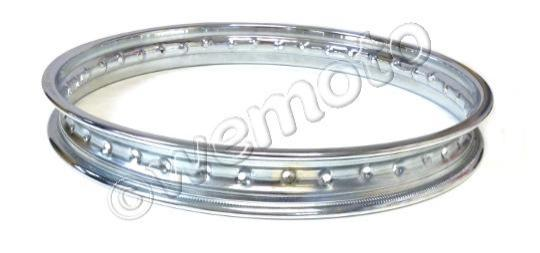 Picture of Wheel Rim - 1.60 x 18 - 40 Holes - Chrome