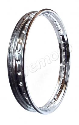 Wheel Rim - 1.60 x 16 - 36 Holes - Chrome