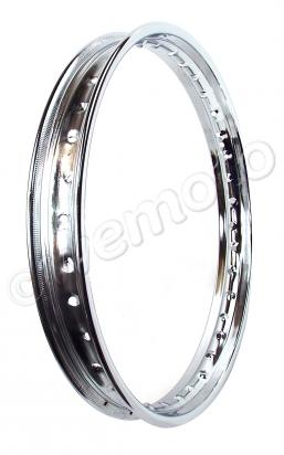 Picture of Wheel Rim - 1.60 x 18 - 36 Holes - Chrome