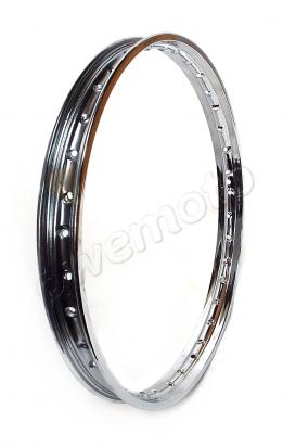 Wheel Rim - 1.40 x 17 - 36 Holes - Chrome
