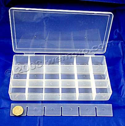 Picture of Plastic Parts Tray - 18 Compartments for small parts