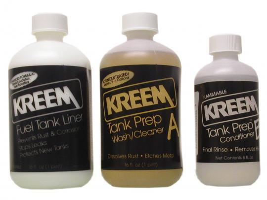 Fuel Tank - Liner and Prep Kreem Combo-Pak