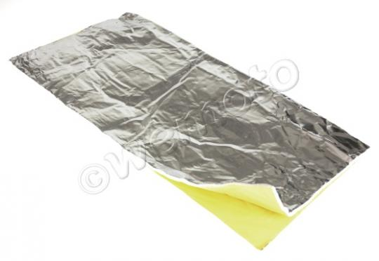 Picture of Adhesive Heat Shield Sheet 50cmx50xm Fibreglass Inner