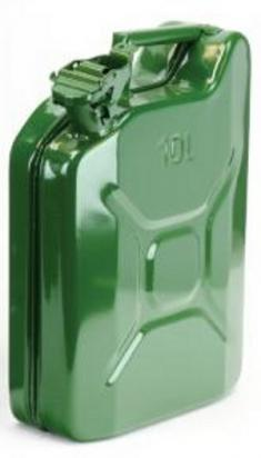 Picture of Metal Fuel Jerry Can - 10 Litres Capacity