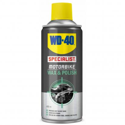 WD40 Specialist Motorbike Wax & Polish 400ML