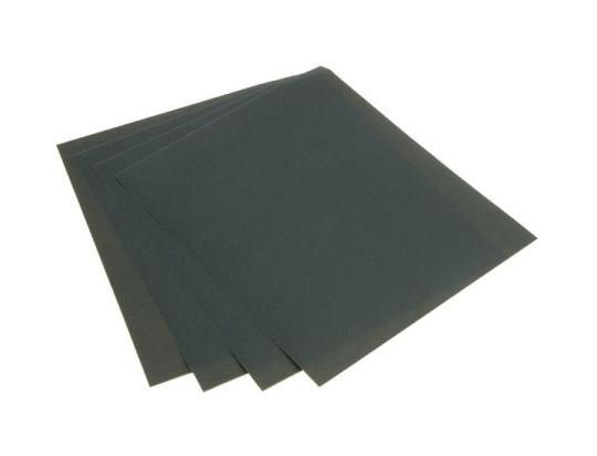 Picture of Sanding Sheet Wet and Dry Assorted Pack 4 sheets 320 400 600 1200 Grit