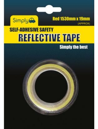 Picture of Reflective Tape - Self Adhesive 1.5MX19MM RED