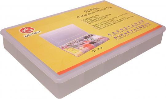 Picture of Plastic Parts Tray - Container 19 Compartments 335mm x 240mm