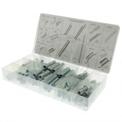 Picture of Parts Tray - Universal Lightweight Springs - 200pc Assortment