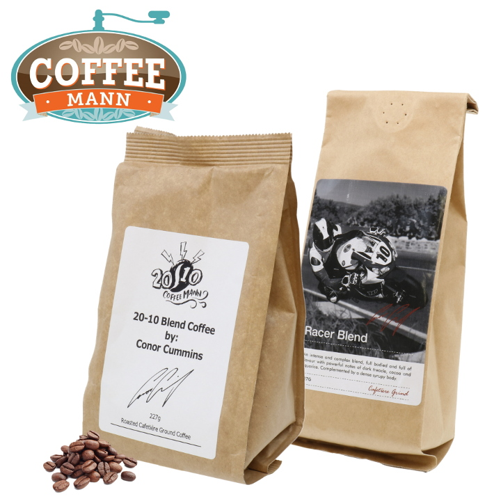Coffee Mann Ground Coffee range