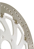 example of a floating motorcycle brake disc