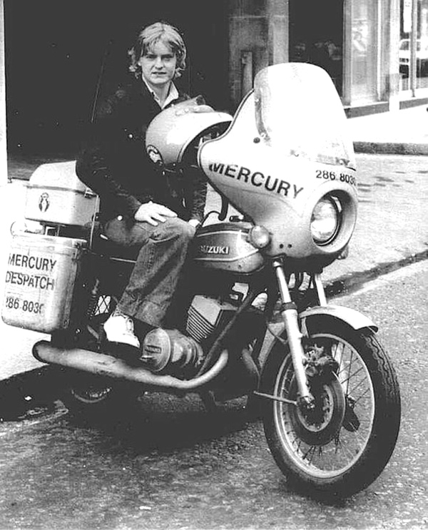 Motorcycle Couriers, then and now