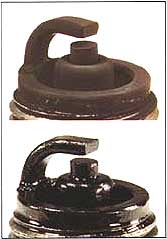 Spark Plug, Dry and Wet Fouling