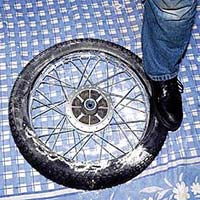 How to fit a inner tube
