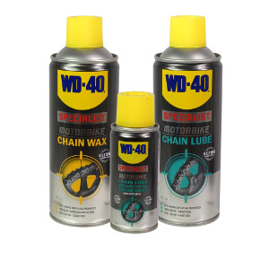 WD-40 Specialist Motorbike Chain Wax and Chain Lube